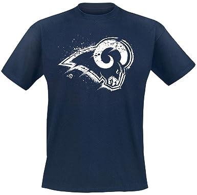 NFL Los Angeles RAMS Camiseta Azul Oscuro 3XL: Amazon.es