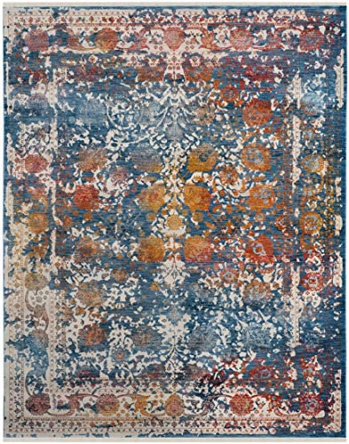 Safavieh Area Rug, 8 x 10 , Turquoise