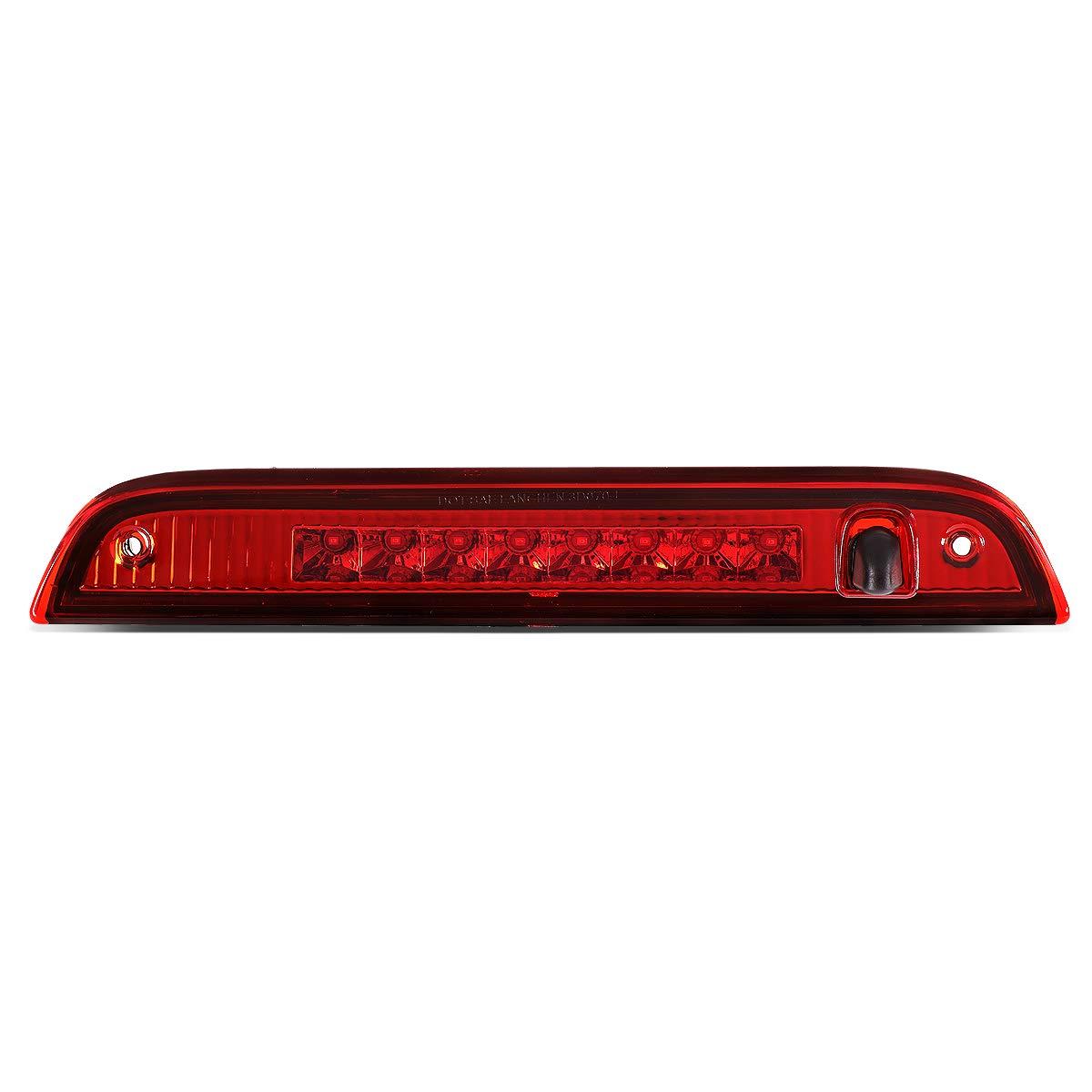 Rear Center Full LED 3rd Third Brake Light Lamp Red DNA MOTORING 3BL-PAT07-LED-RD