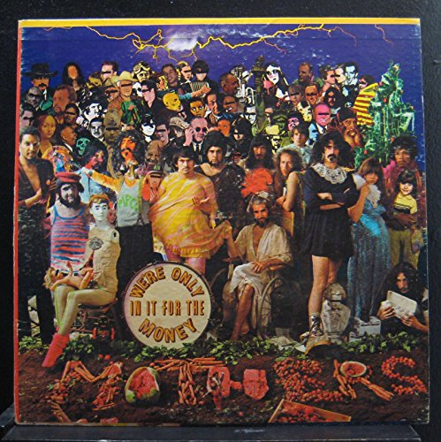 """Price comparison product image The Mothers Of Invention """"We're Only In It For The Money"""" Original 1967 Verve V6-5045 Stereo Vinyl Lp Record w / Insert Frank Zappa EX"""