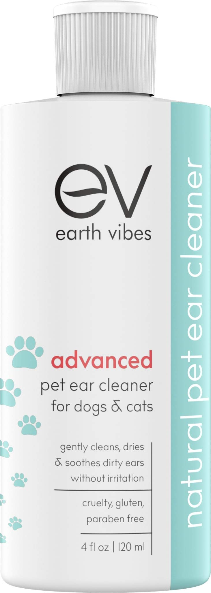 Earth Vibes Advanced Dog And Cat Ear Cleaner Best