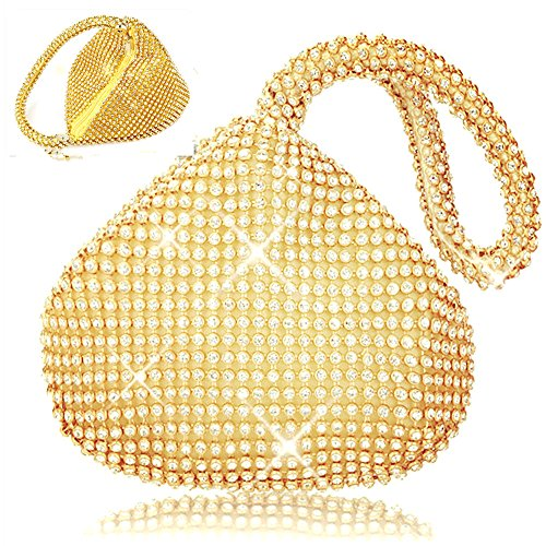 ELEOPTION Evening Triangle Wedding Handbag