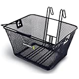 Basil Bern Lift-Off Bicycle Basket (Black) by Basil