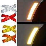 FANCYLEO 10 Pcs Reflective Warning Strip Safety