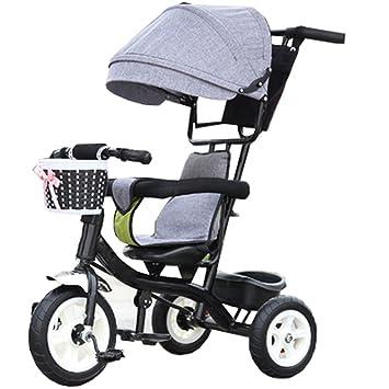 Bicicleta para niños Niño de interior al aire libre bicicleta de triciclo pequeña bicicleta de niño