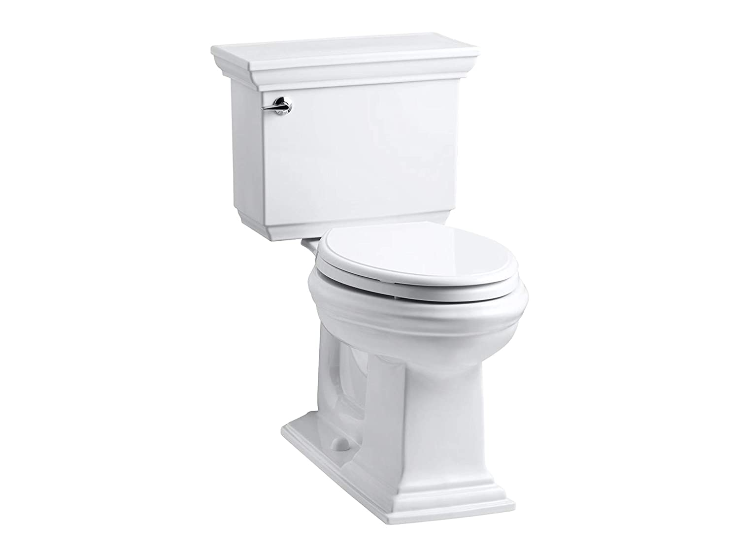 KOHLER K-3817-0 Memoirs Stately Comfort Height Two-Piece Elongated