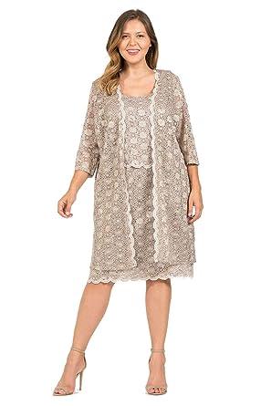 fb5b630c361 R M Richards Short Mother of The Bride Dress at Amazon Women s ...