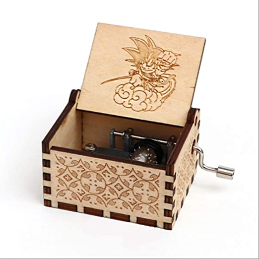 LYXL Caja Musica Niña Caja De Música De Dragon Ball Caja Musical ...