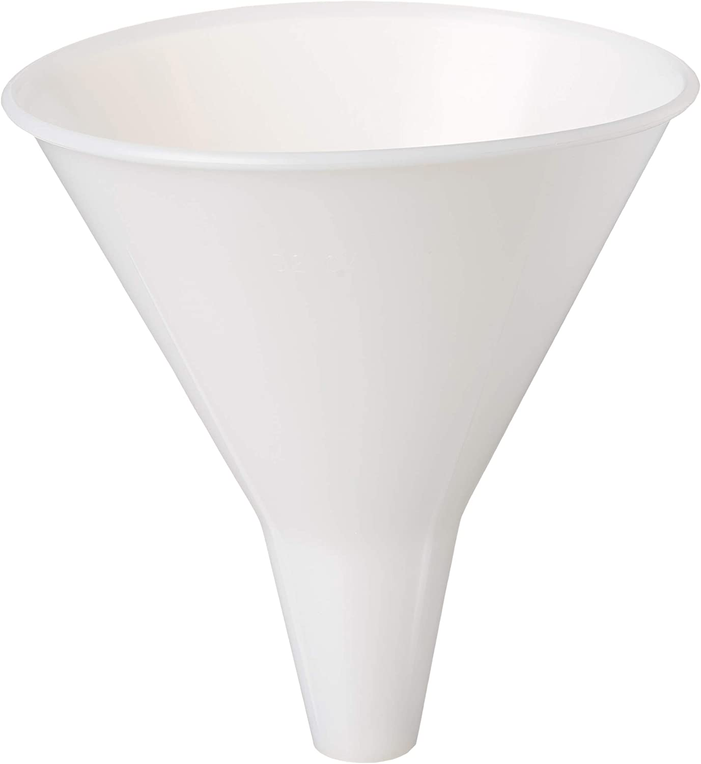 Hutzler Wide Neck Plastic Funnel, 32 oz, Natural