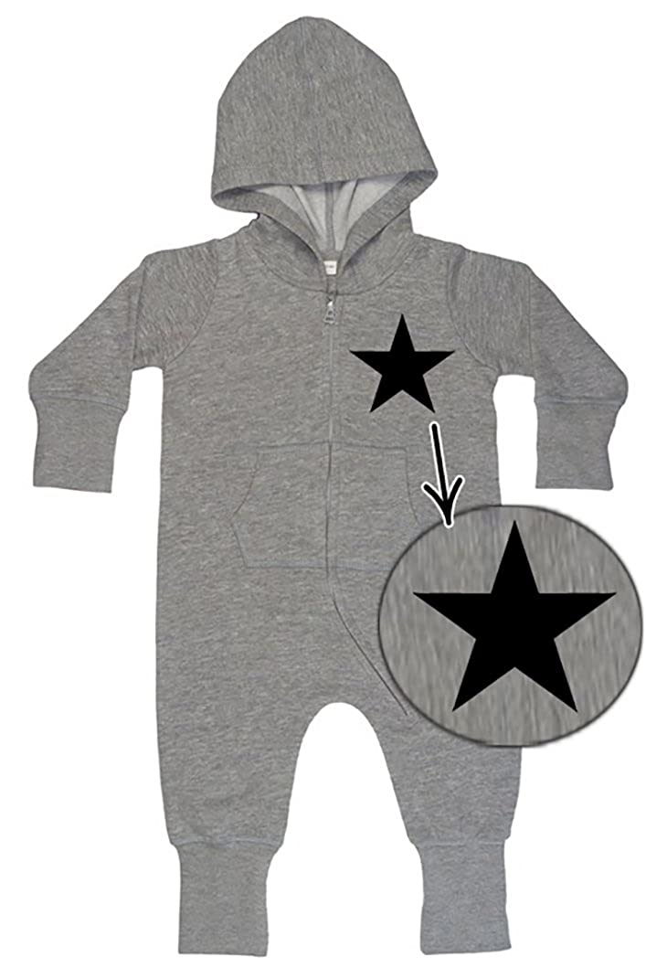 BLACK STAR Baby All-in-one Sweatsuit grey 45001