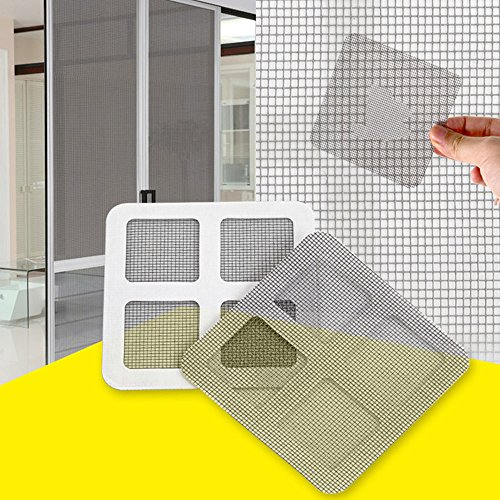 3PCS Anti-Insect Repair Tape Pulison Fly Door Window Mosquito Screen Net Repair Tape Patch Adhesive Allow Fresh Air in While Keeping Out Flies by Pulison (Image #1)