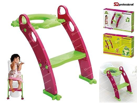 3 opinioni per SQ Professional- Sedile con scala a gradini per addestramento al vasino bambini