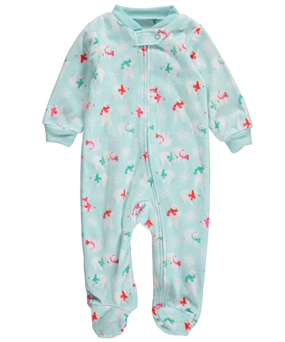 Carter's Baby Girls' Polar Bears at Play Footed Coverall 6 months Carter' s