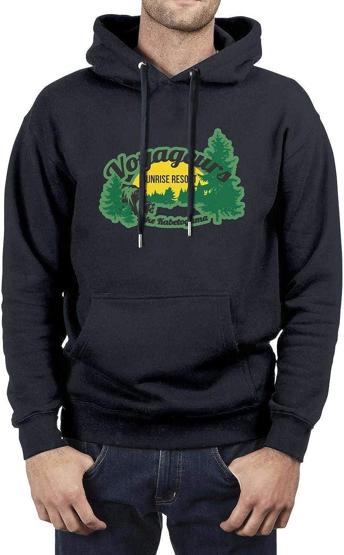 Mens Hip Hop Long Sleeve Hoodies Voyageurs National Park Hoodies Sweatshirt