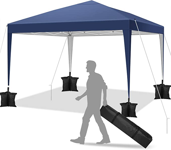 YUEBO Carpa 3x3 m Carpas Plegables Impermeables Gazebo Plegable ...