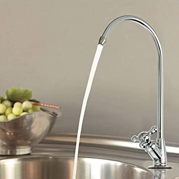 Amazon Com Aissimio Ro Filter Drinking Water Faucet Chrome Ro