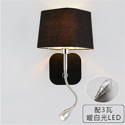 Liyan minimaliste Applique murale Applique E26/27 Base lampe murale ...