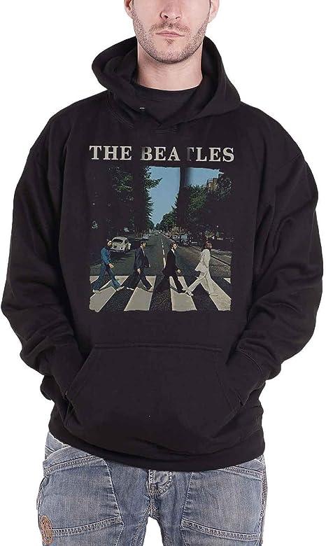 Amazon.com: The Beatles - Sudadera con capucha con logotipo ...