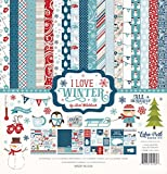 Echo Park Paper Company ILW115016 I Love Winter Collection Kit