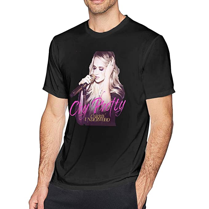 Carrie Underwood Shirt Mens Classic Short Sleeve Tees Shirts Tops