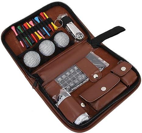 VGEBY1 Bolso del Kit de Herramientas de Golf, Juego de Accesorios Multifuncional para Juego de Regalo
