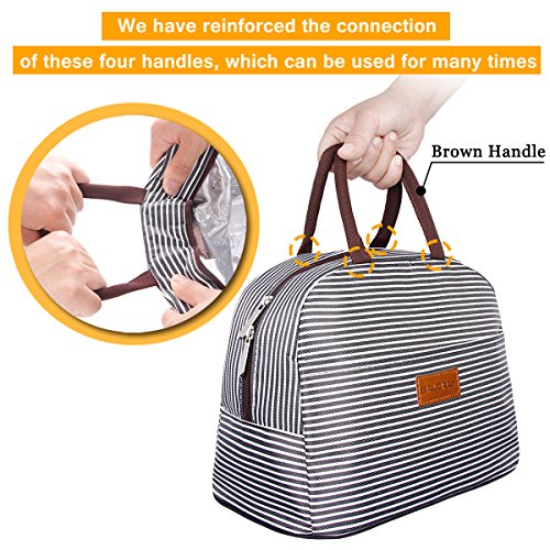 BALORAY Lunch Bag Tote Bag Lunch Organizer Lunch Bag for Women Perfect for Work Women(Upgraded Version) by BALORAY (Image #5)