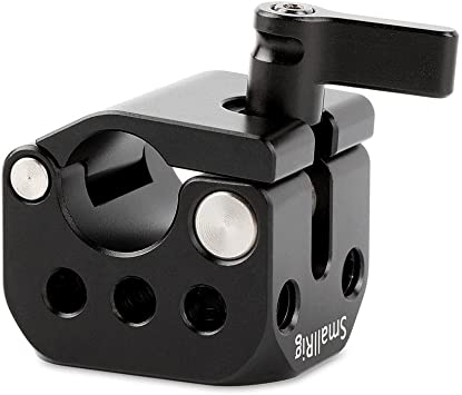 Rail Rod Clamp Mount 15mm Connect Monitor Hot Shoe Microphone Aluminum Alloy
