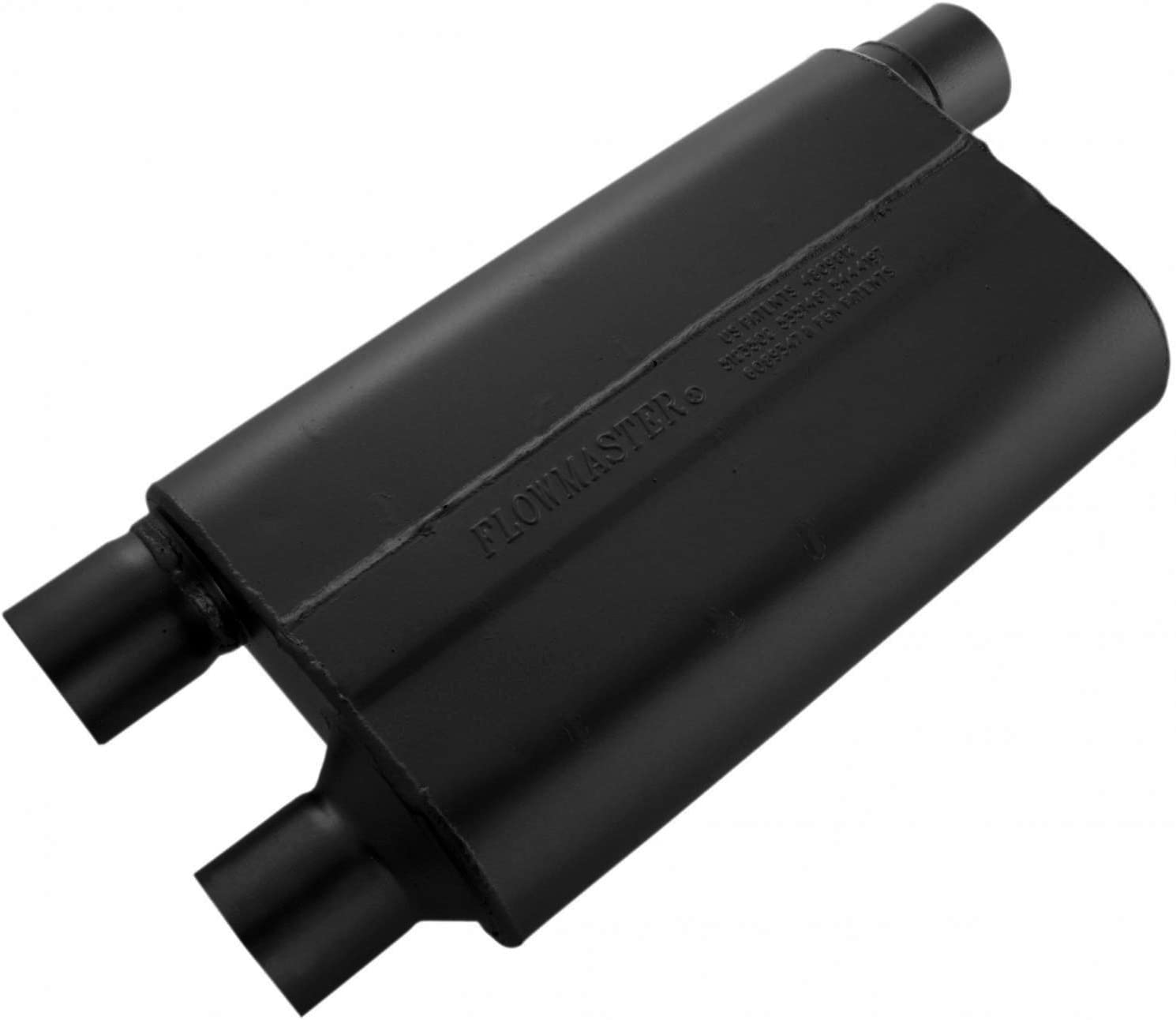 B000182DNI Flowmaster 42583 80 Series Muffler - 2.50 Offset IN / 2.50 Dual OUT - Aggressive Sound 61JuW0gG2NL.SL1500_