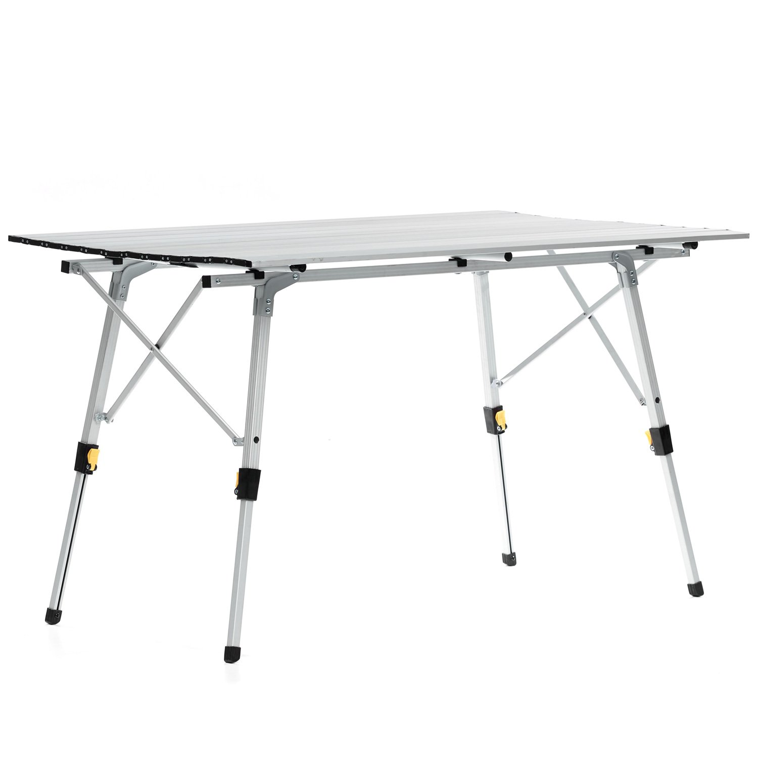 Skandika table de camping pliable pliante en aluminium for Table pliante 4 personnes