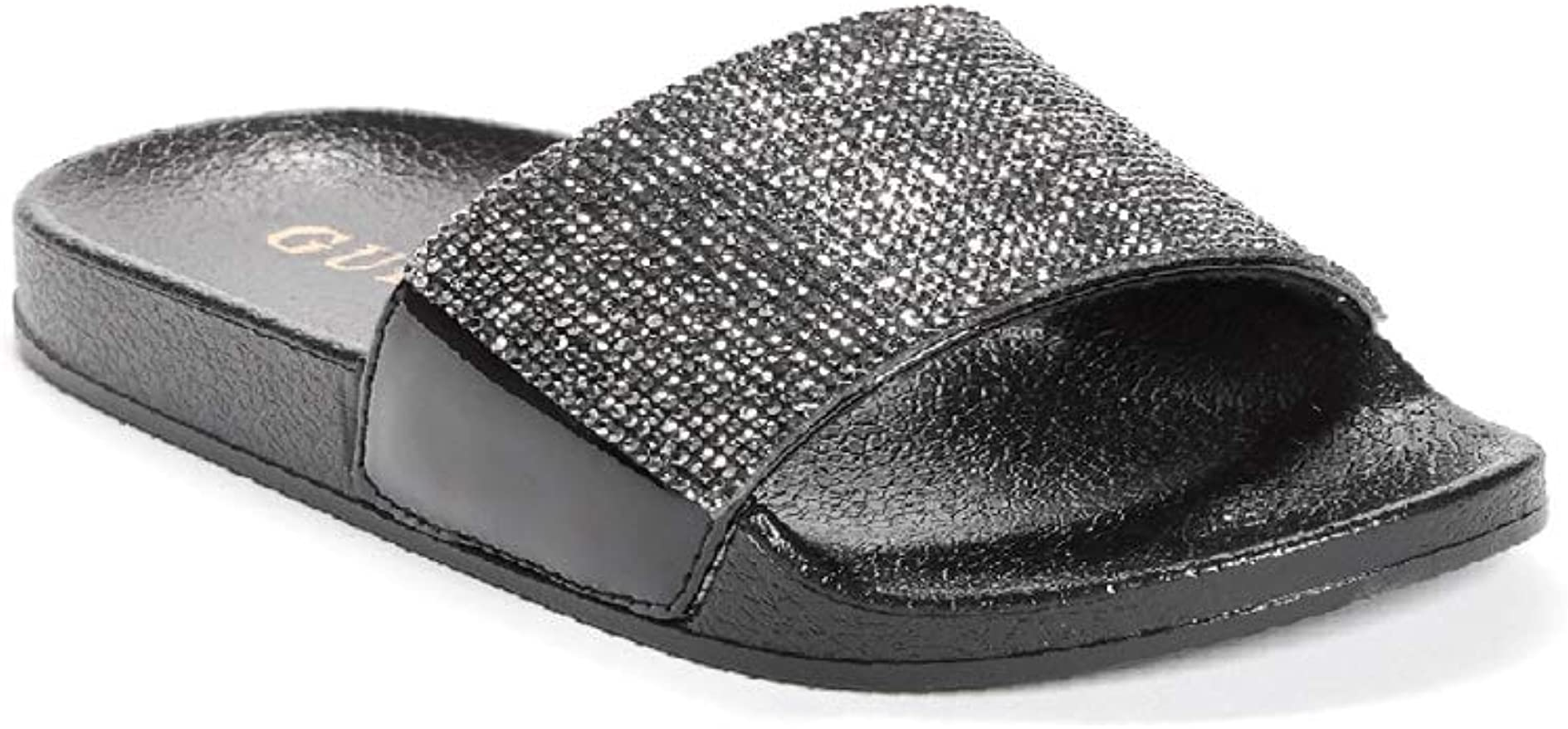 guess slip on sandals