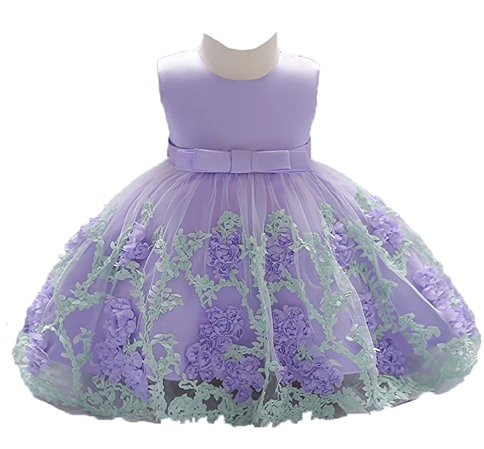 e3fd2d480b1c OURDREAM Toddler Girls Ball Gown Dresses 2018 for Baby Birthday Party Size  18M 24 Months (
