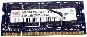 Hynix 2GB DDR2 RAM PC2-6400 200-Pin Laptop SODIMM Major/3rd