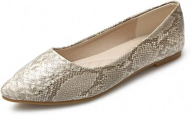 Ballet Flats Pointed Toe Comfort Slip