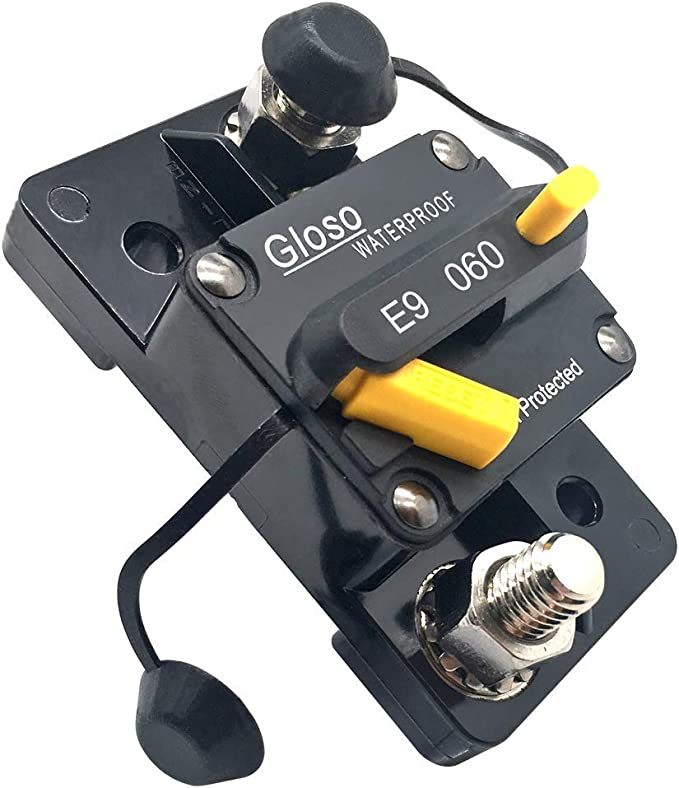GLOSO E93 Waterproof IP67 Marine Auto Truck Hi-Amp Circuit Breaker 120A