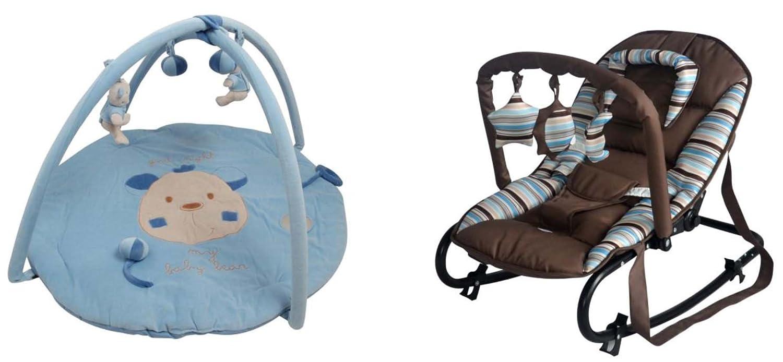 King Bear alfombra de actividades con arceaux y juegos + 5 ...