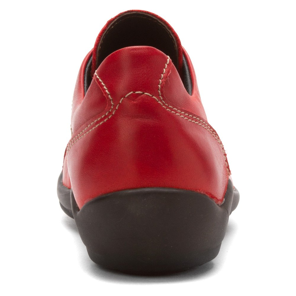 Wolky Comfort Lace up Shoes Dutch B00C7MWH46 36 M EU|Red Greased Leather