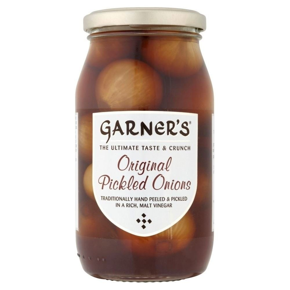 Garner's Original Pickled Onions (454g) - Pack of 2 by Garners