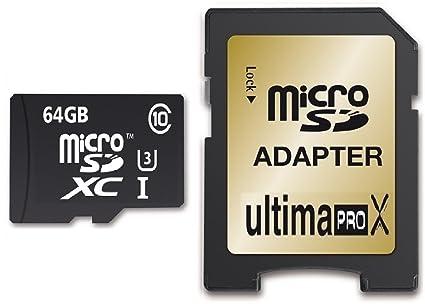 Memzi - Tarjeta de memoria (64 GB, clase 10 Ultima Pro X 95 MB/s ...