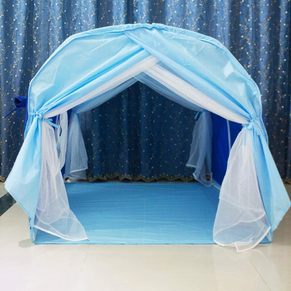 PAIZEP Enfants lit de Tente Lits s/épar/és artefact Tunnel gar/çon Play House lit /à baldaquin lit de Princesse Manteau Play House