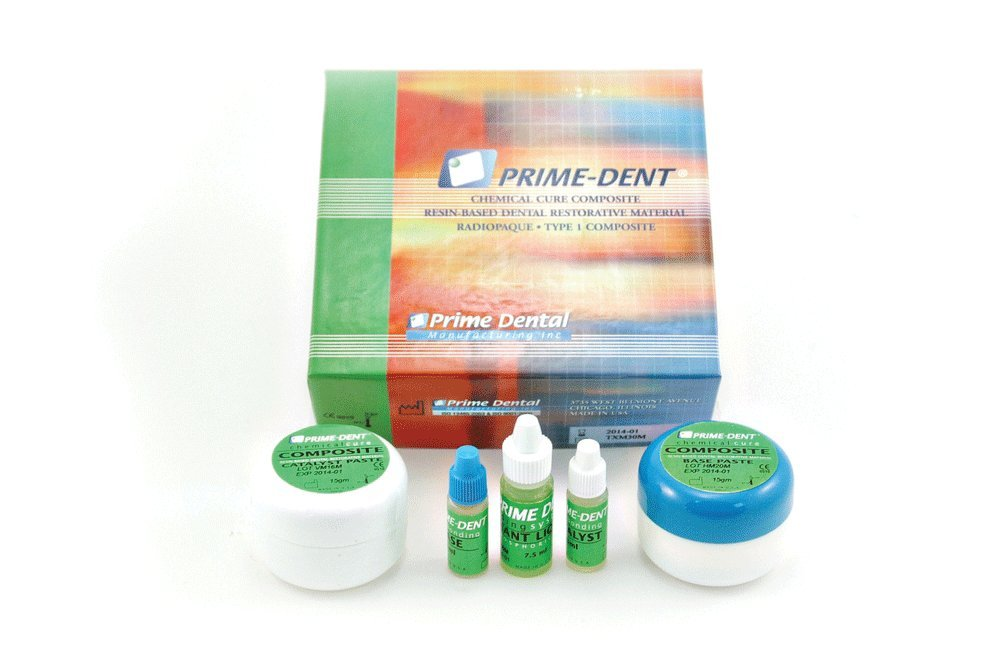 House Brand CO300 Self Cure Composite Kit Jars 15gm/15gm