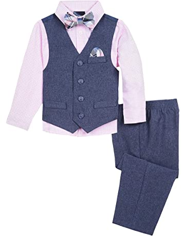 3f010d52f Nautica Baby Boys 4-Piece Set with Dress Shirts, Vests, Pants, and