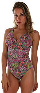 product image for Tan Through Purple Fiji C-D Support Seam Strap Tank