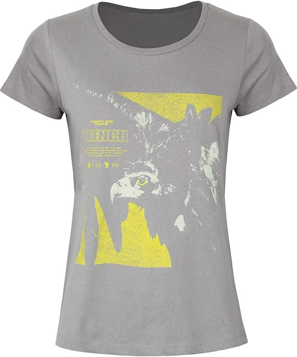 Twenty One Pilots Cover Square Camiseta Blanco S