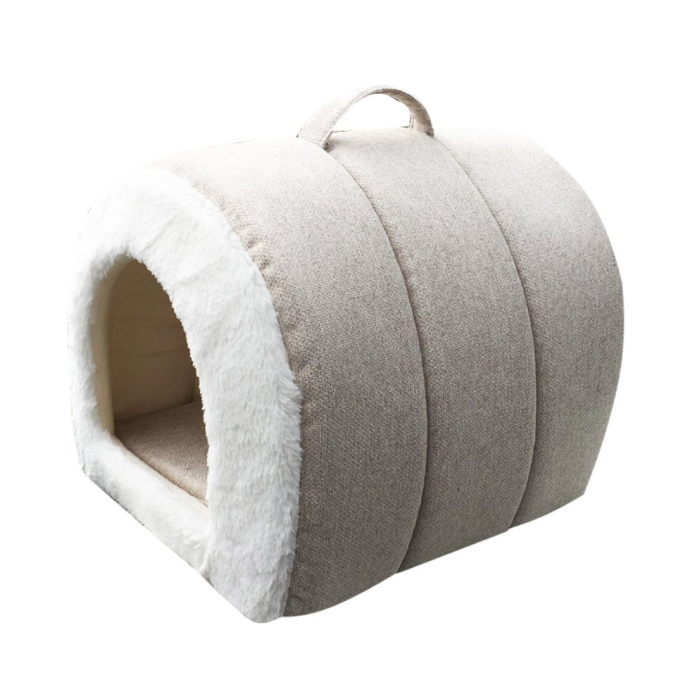 J 423636cm 171414inLDFN Warm Kennel Washable Small Dog House Seasons Universal Dog Bed Pet Nest Cat Litter Pet Supplies,M363030cm 141212in