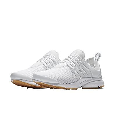 the best attitude ceb04 0bfb6 Nike Women's W AIR Presto, White/White-Gum Yellow, 7 UK ...