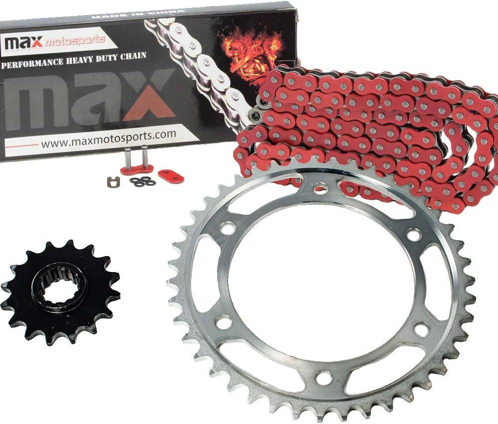 Black O-Ring Chain and Sprocket Kit for Honda CBR600RR 2003 2004 2005 2006
