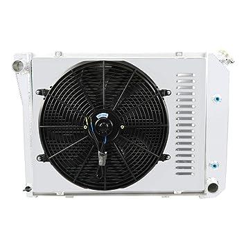 primecooling 3 fila todos Radiador de aluminio + ventilador (16 cm de diámetro.)