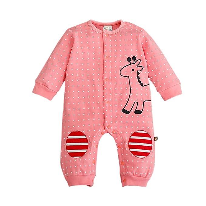 Bebone Mameluco Pelele Bebé Niños Niñas Pijama de Rompers Manga Larga infantil: Amazon.es: Ropa y accesorios