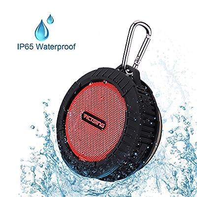 VicTsing® Phoenix Portable Wireless Bluetooth 4.0 Waterproof Speaker w/ 10 Hours Playing Time, 5W Speaker for Outdoors/Shower
