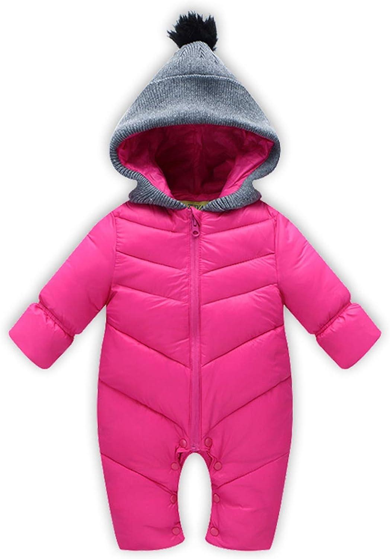 New Unisex Baby Snowsuit Down Coat Romper Newborn Snowsuit Snow Wear Coveralls Coats Outwear Winter Warn Baby Clothing